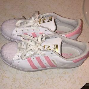 ♥️ Pink Stripe Adidas ♥️